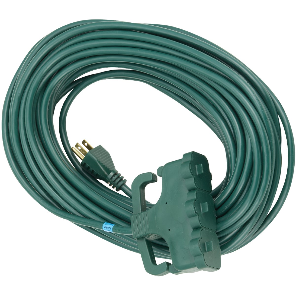 70' 16/3GRN TRI TAP CORD - OP-JTW163-70X-GR by Do it Best