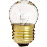 GE Lighting 7-1/2W CLR UTILITY BULB 46844 7-1/2S