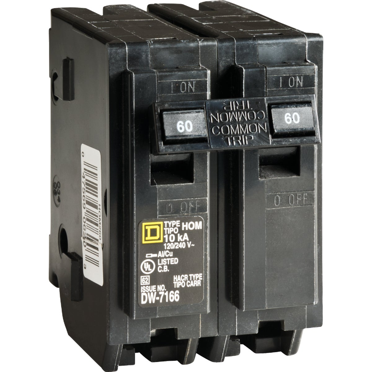 60A 2POLE BREAKER - HOM260C by Square D Co