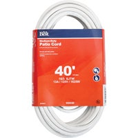 Do it Best Imports 40' 16/3 WHITE EXT CORD OU-JTW163-40X-WH