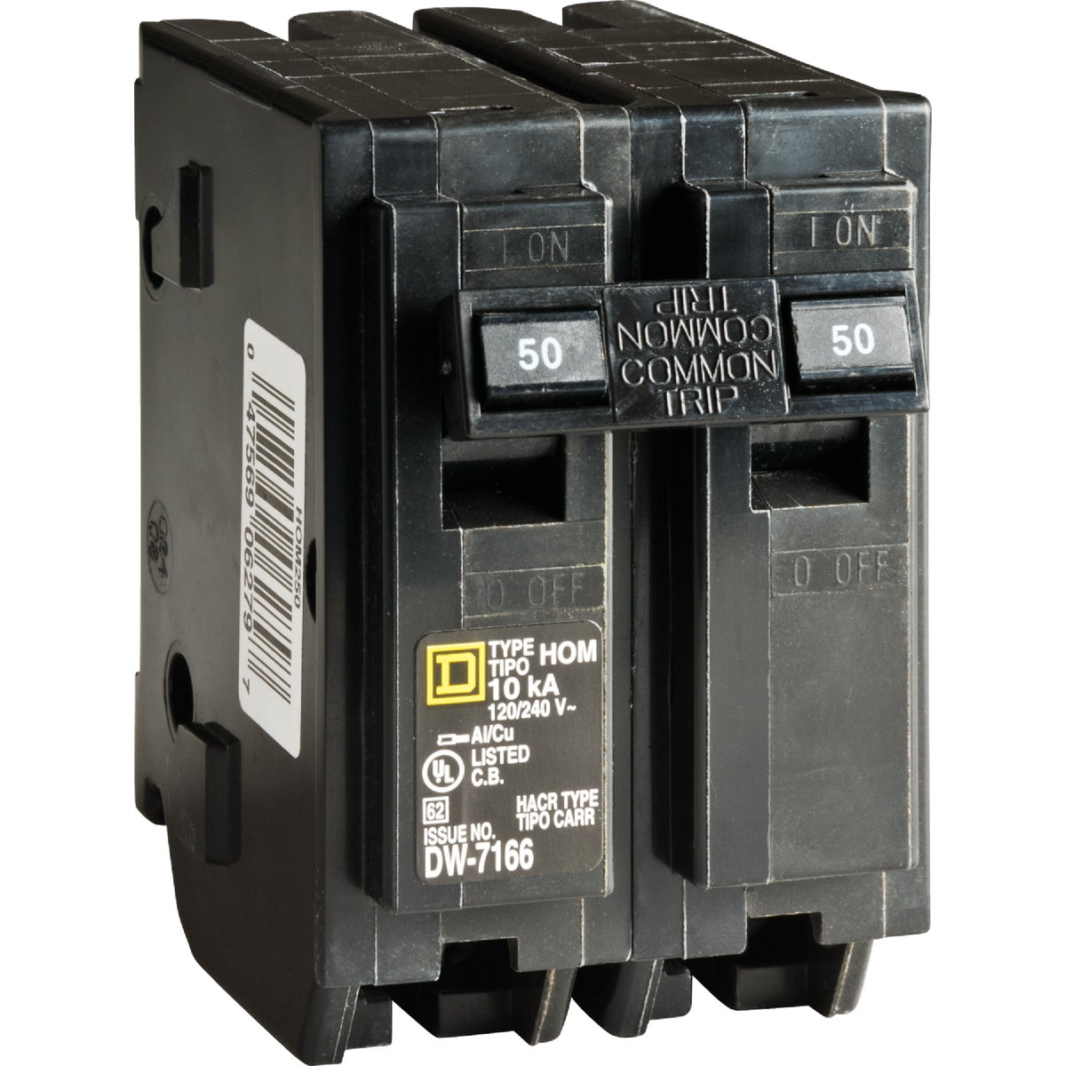 50A 2POLE BREAKER - HOM250C by Square D Co