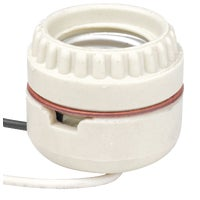 Leviton PORCELAIN SOCKET W/LEADS 019-8101