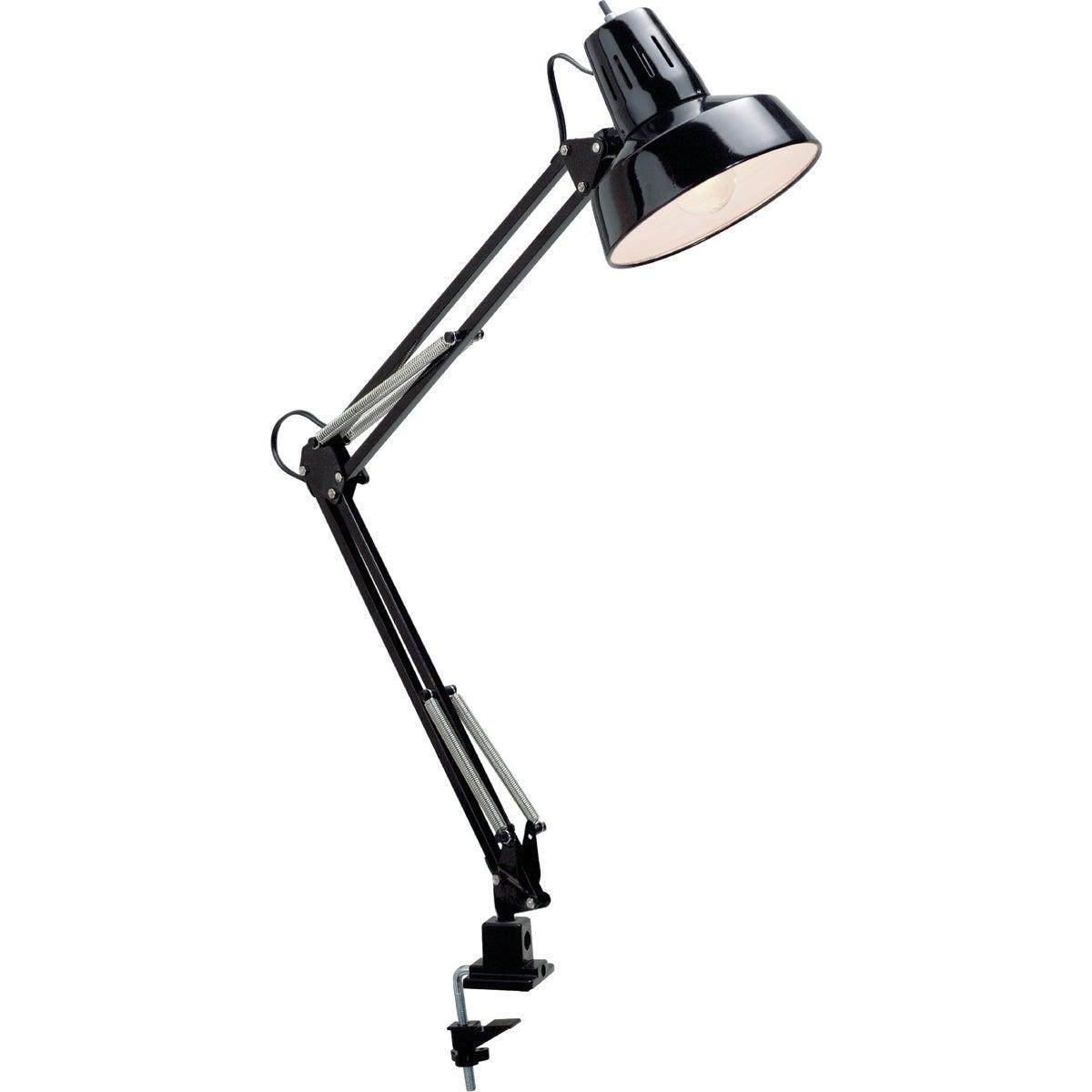 100W BLK SWINGARM LAMP - LS-105BLK by Lite Source