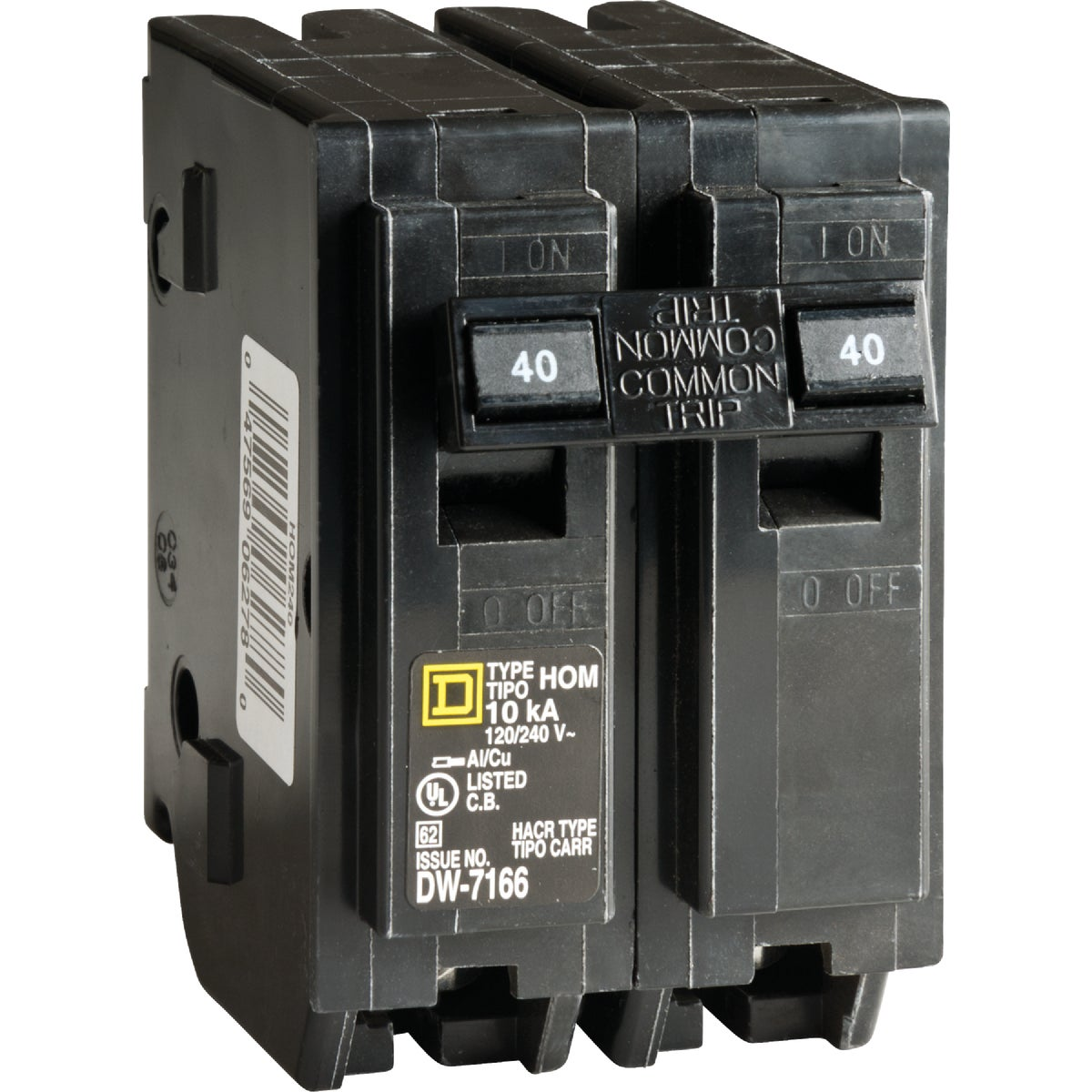 40A 2POLE BREAKER - HOM240C by Square D Co