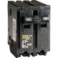 Square D Co. 40A 2POLE BREAKER HOM240C