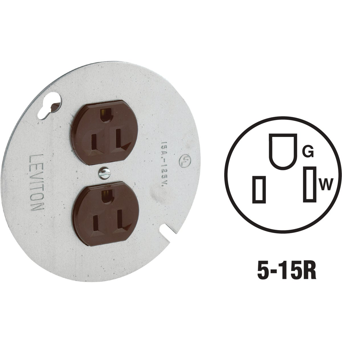 OUTLET W/COVER