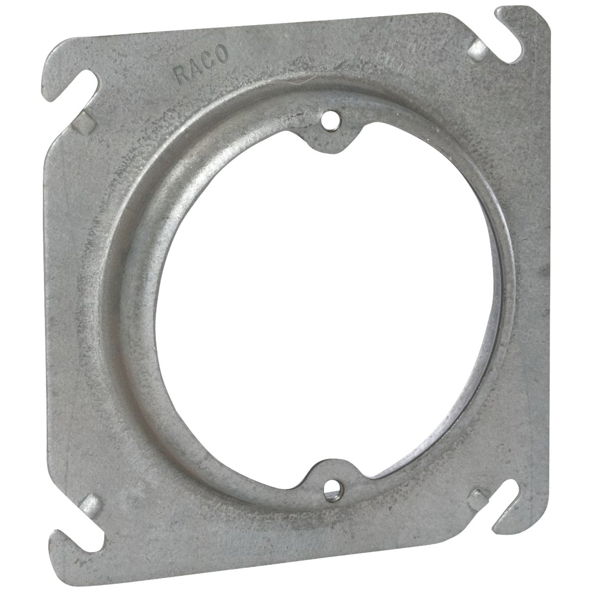 "4"" SQ RSD 5/8"" COVER - 52C325 by Thomas & Betts"