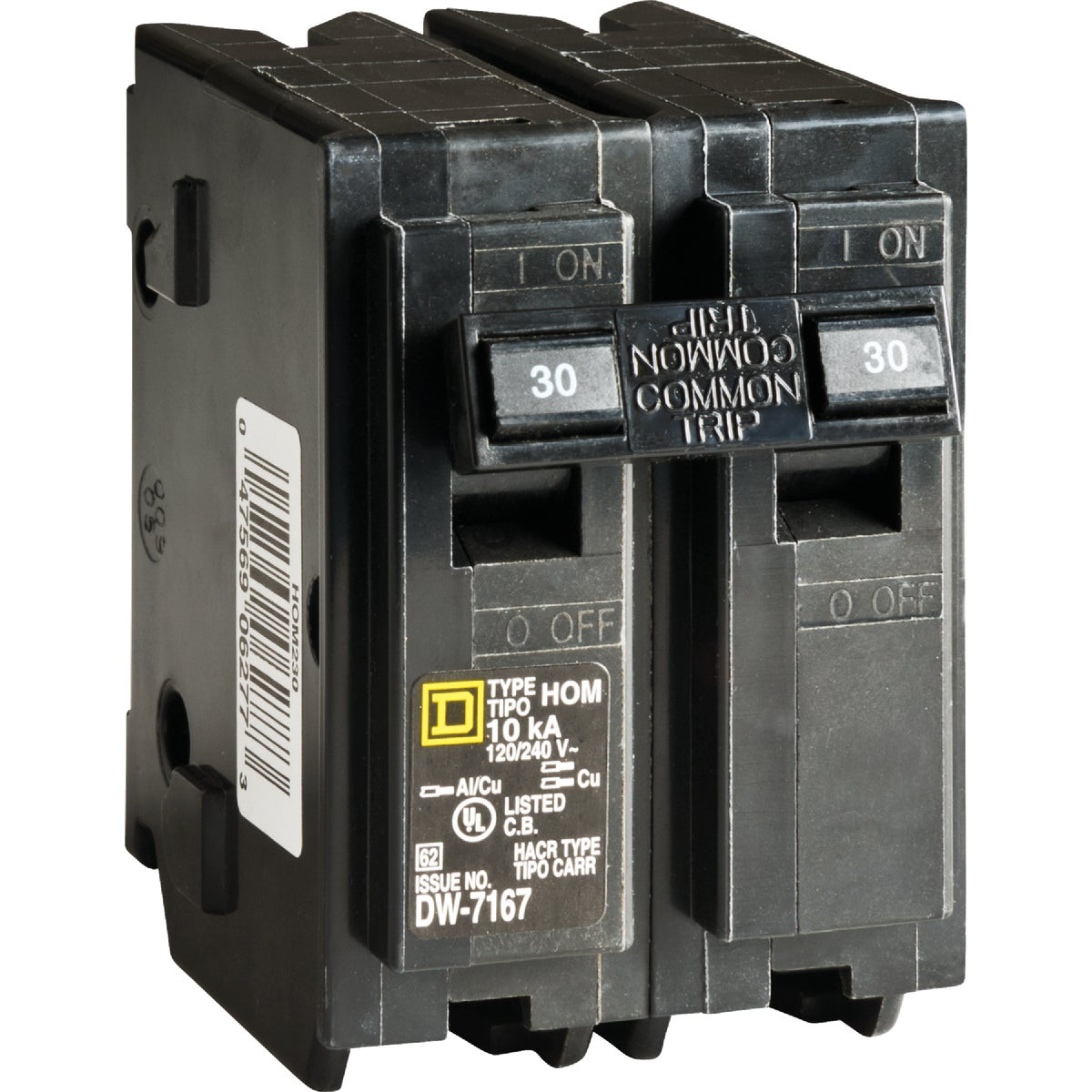 30A 2POLE BREAKER - HOM230C by Square D Co