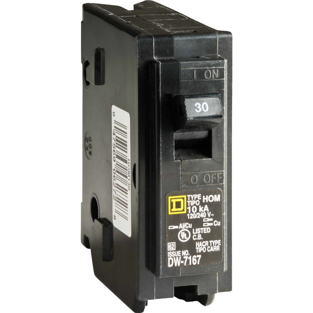 Square D Co. 30A BREAKER HOM130C