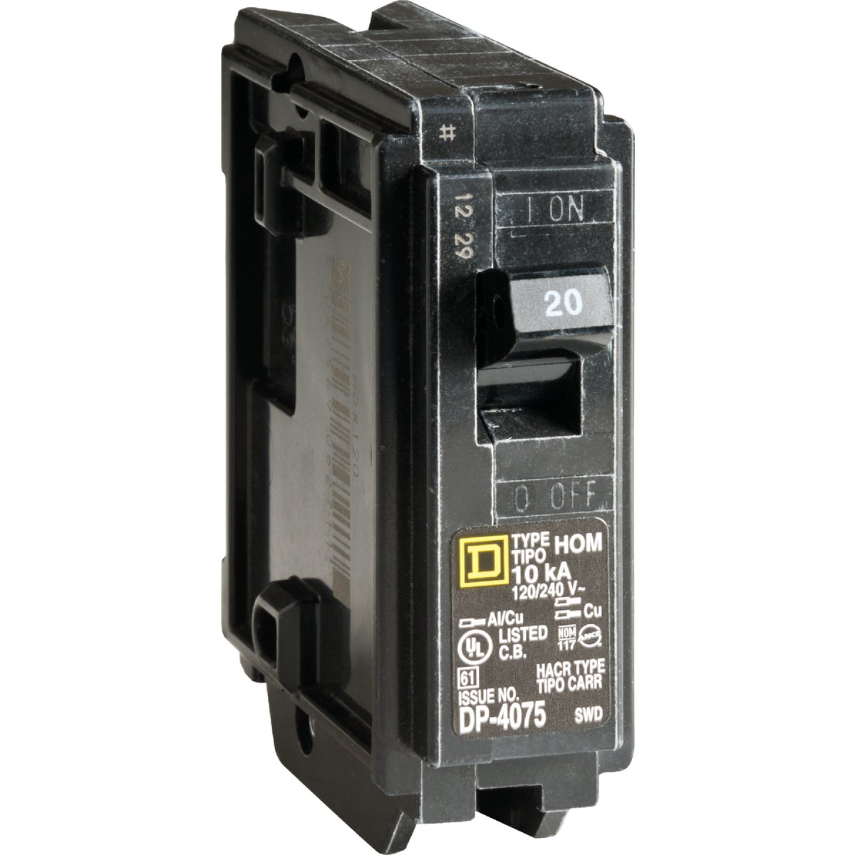 20A BREAKER - HOM120C by Square D Co