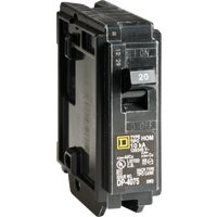 Square D Co. 20A BREAKER HOM120C