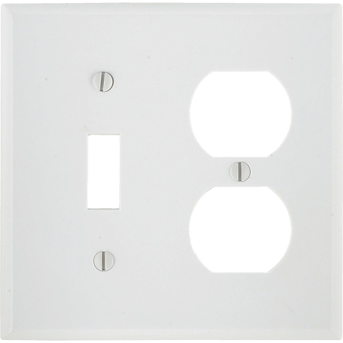 WHT COMBO WALL PLATE - 88105 by Leviton Mfg Co