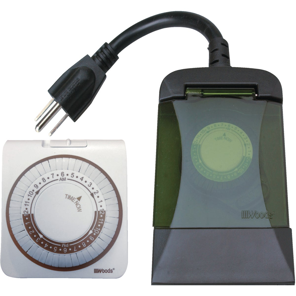 INDOOR/OUTDOR TIMER PACK - 13571 by Woods Wire Coleman