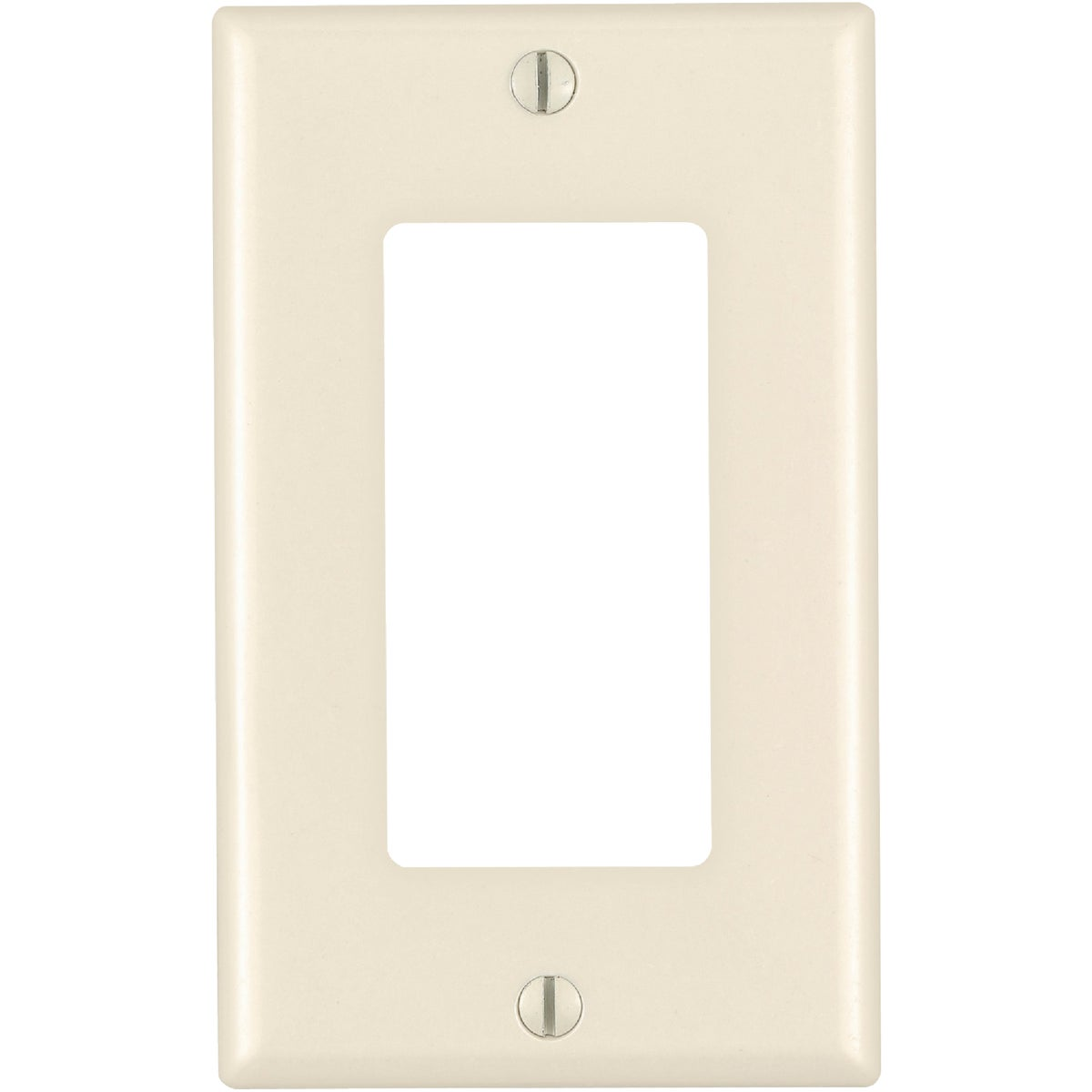 LT ALM GFI WALLPLATE - 130-80401-ONT by Leviton Mfg Co