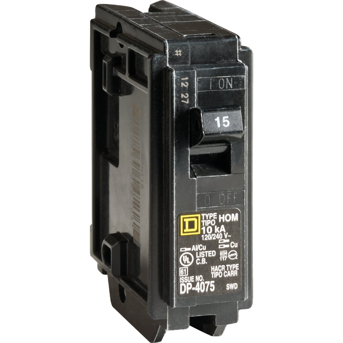 15A BREAKER - HOM115C by Square D Co