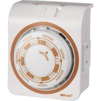 Woods Ind. 7 DAY MECHANICAL TIMER 59202
