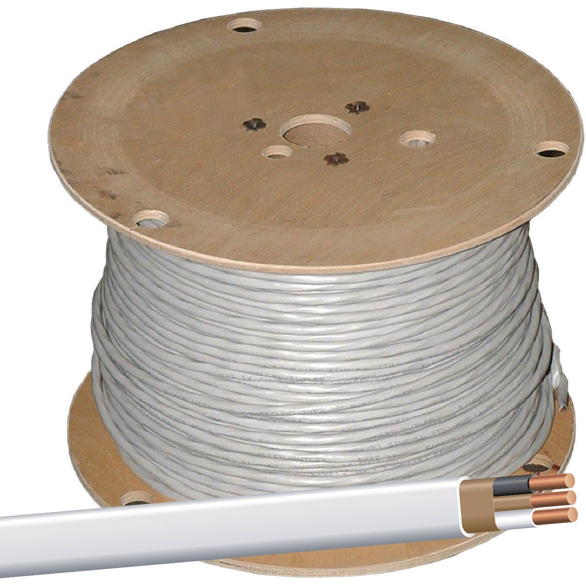 1000' 14-2 NMW/G WIRE - 28827401 by Southwire Company