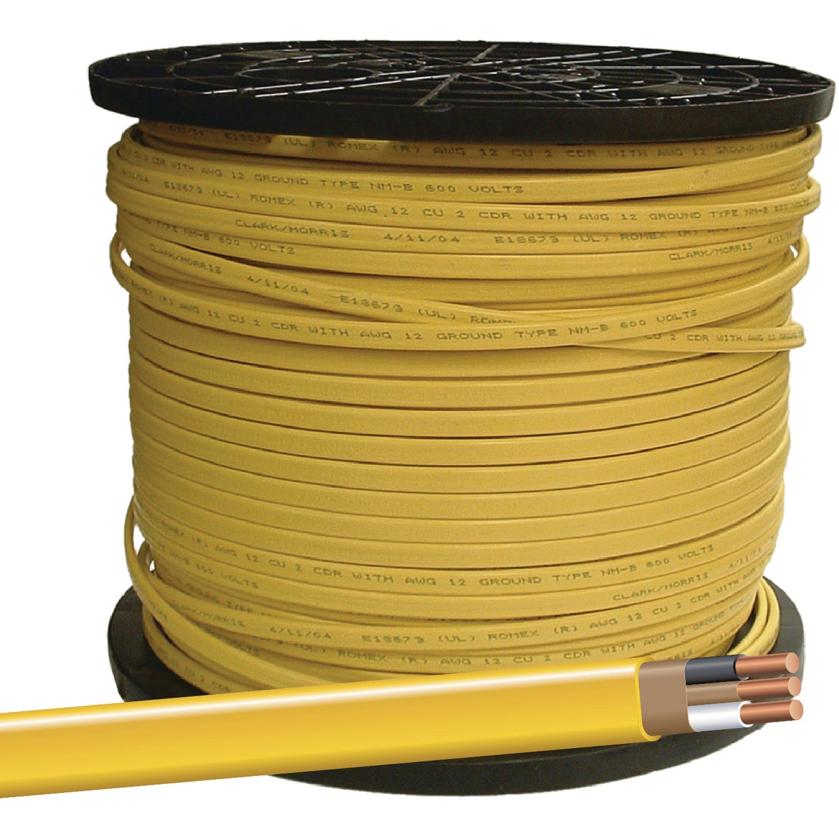 1000' 12-2 NMW/G WIRE - 28828201 by Southwire Company
