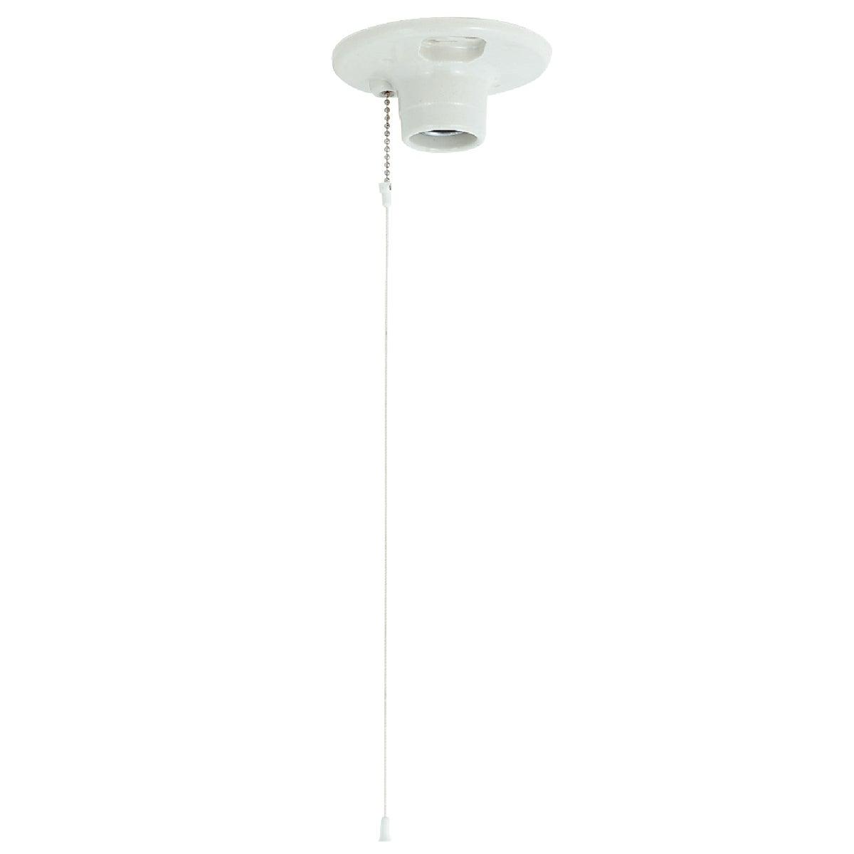 PORCELAIN LAMPHOLDER