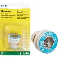 Bussmann 6-1/4A PLUG FUSE BP/S-6-1/4