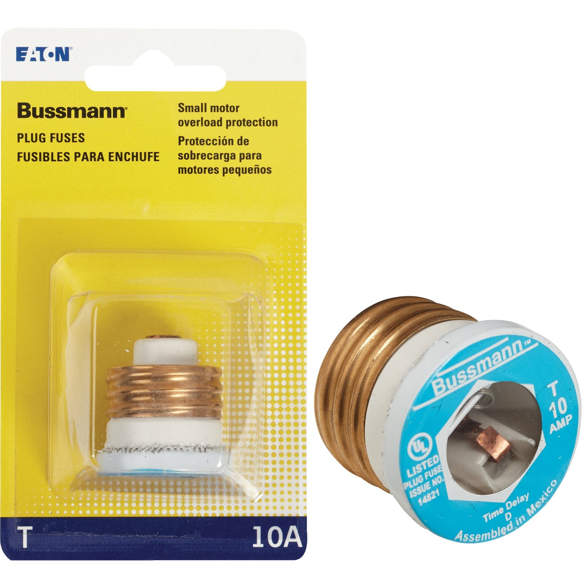 10A PLUG FUSE - BP/T-10 by Bussmann Cooper