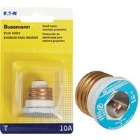 Bussmann 10A PLUG FUSE BP/T-10