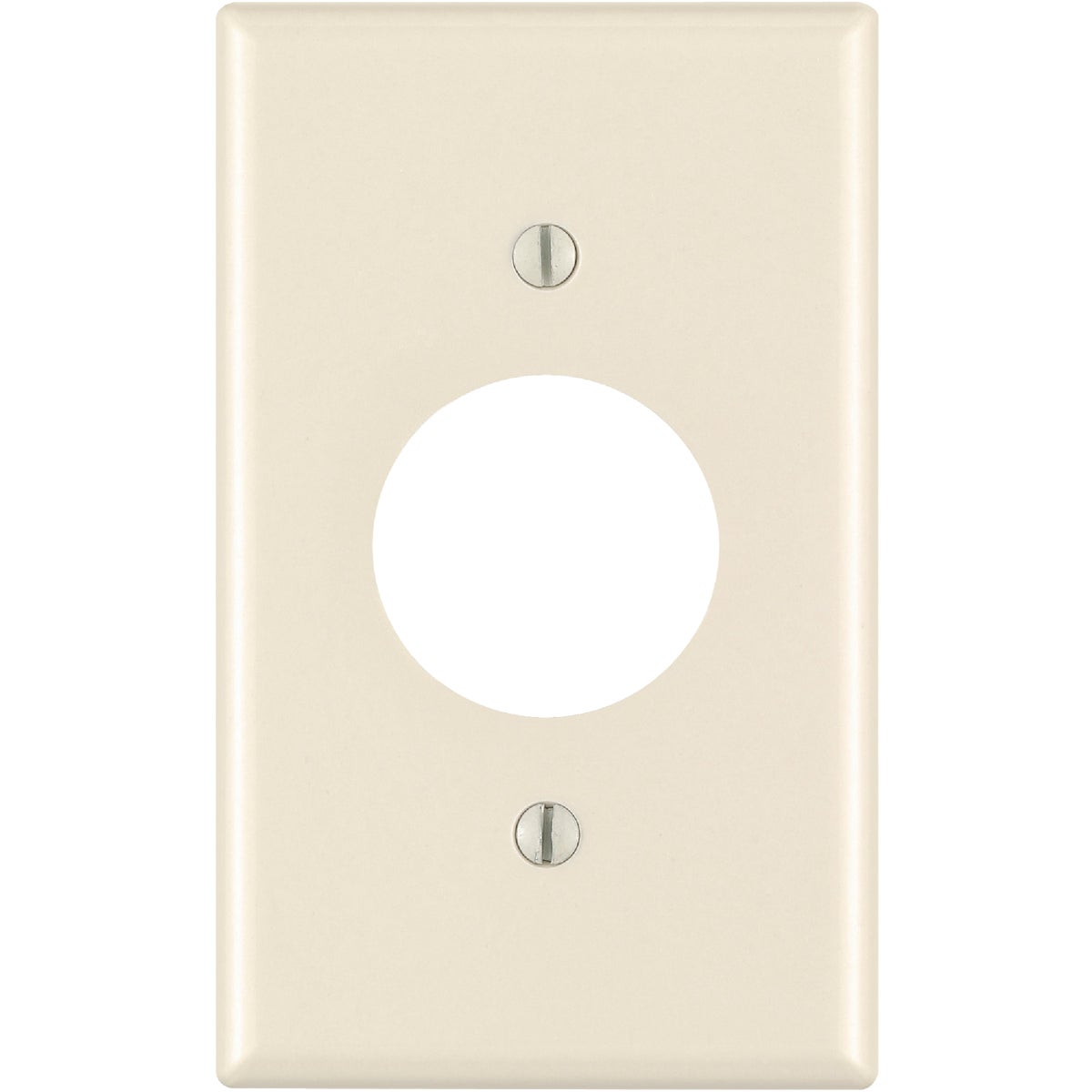 LT ALM SGL OUT WALLPLATE - 000-78004-000 by Leviton Mfg Co