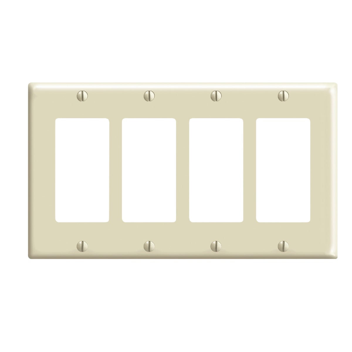 IV 4-ROCKER WALL PLATE - 80412I by Leviton Mfg Co