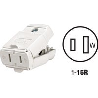 Leviton WHT CORD CONNECTOR 016102WP