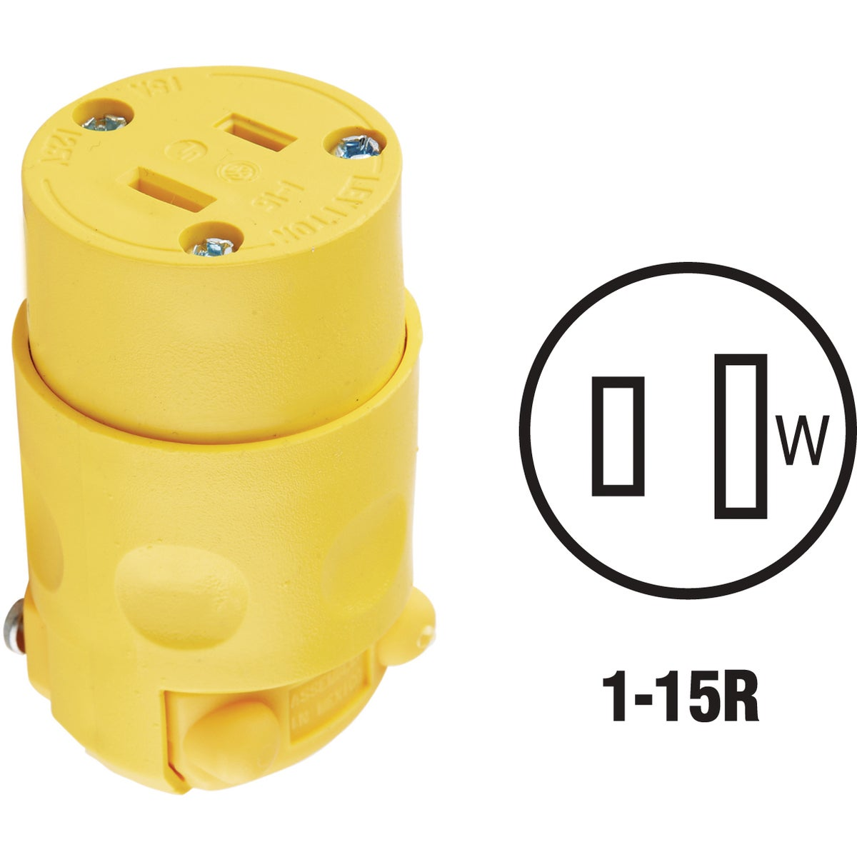 YEL CORD CONNECTOR - 115CV by Leviton Mfg Co