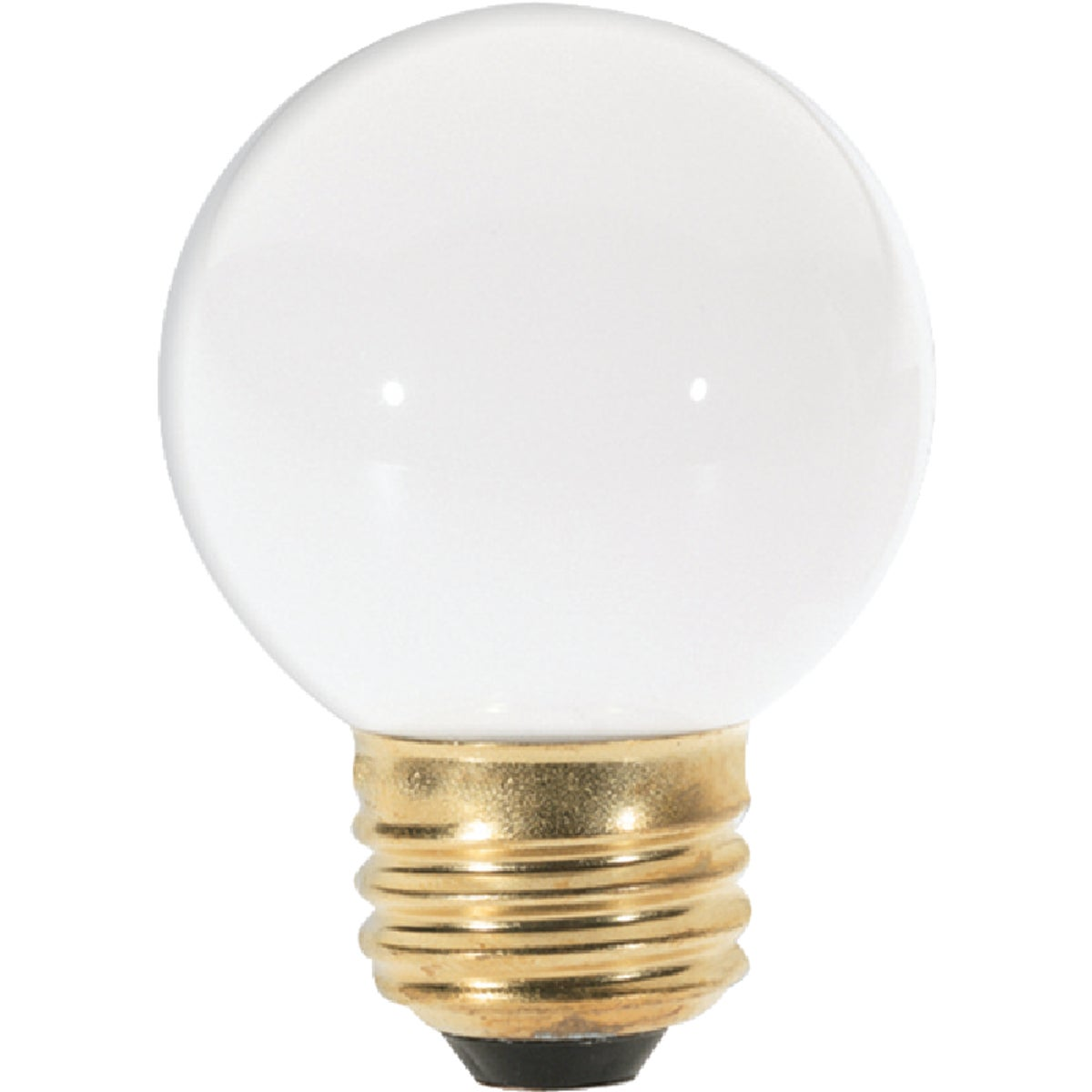 25W WHITE GLOBE BULB - 31107 25GM/W by G E Lighting