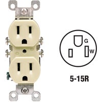 Leviton IV COPPER/ALUM OUTLET 12650I
