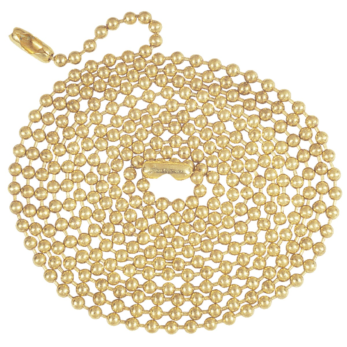 5' BRASS BEADED CHAIN - 70168 by Westinghouse Lightng