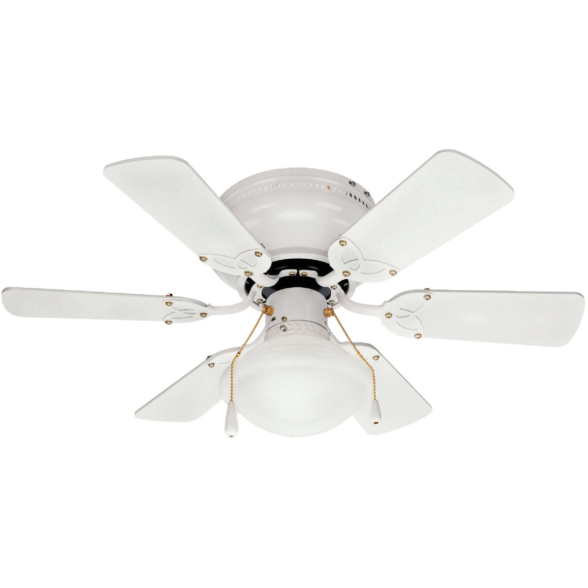 "30"" WHITE CEILING FAN - CF30TWI6WH by Canarm Gs"