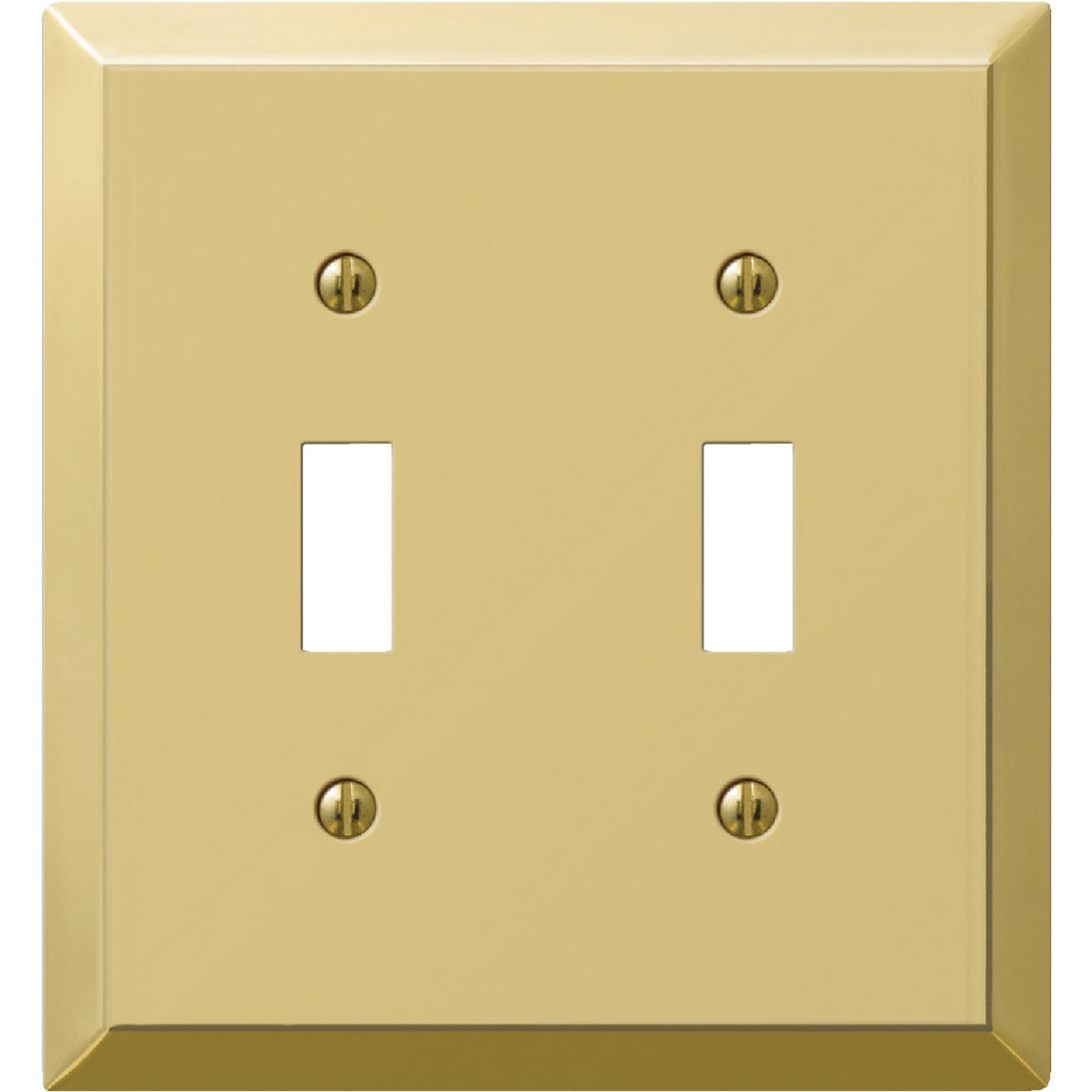 BRS 2-TOGGLE WALL PLATE - 9BS102 by Jackson Deerfield Mf