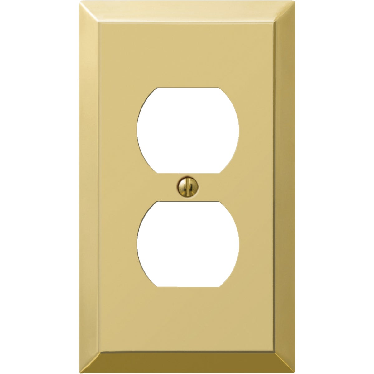 BRS OUTLET WALL PLATE - 9BS108 by Jackson Deerfield Mf