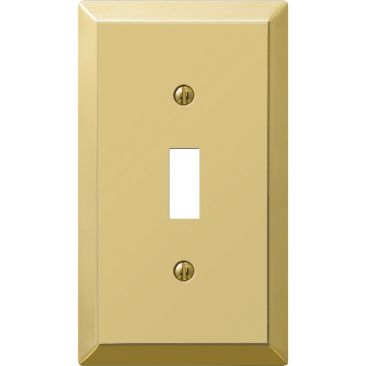 BRS 1-TOGGLE WALL PLATE - 9BS101 by Jackson Deerfield Mf