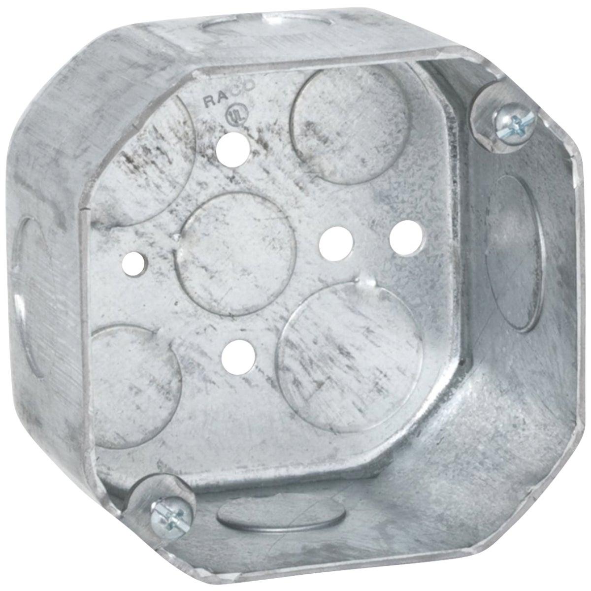 4X4X2-1/8 OCTAGON BOX - 541711/23/4 by Thomas & Betts