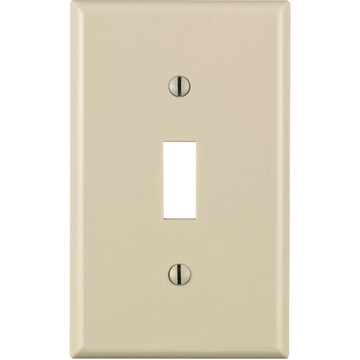 LT ALM 1 TGL WALLPLATE - 024-80701-OOT by Leviton Mfg Co
