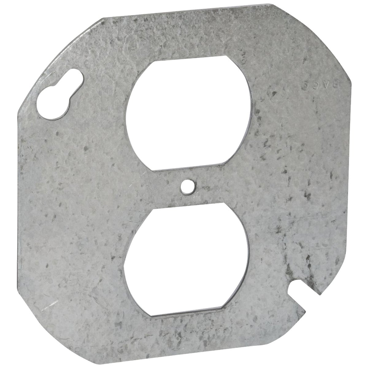 "4"" RND 2-OUTLET COVER - 5402LR by Thomas & Betts"