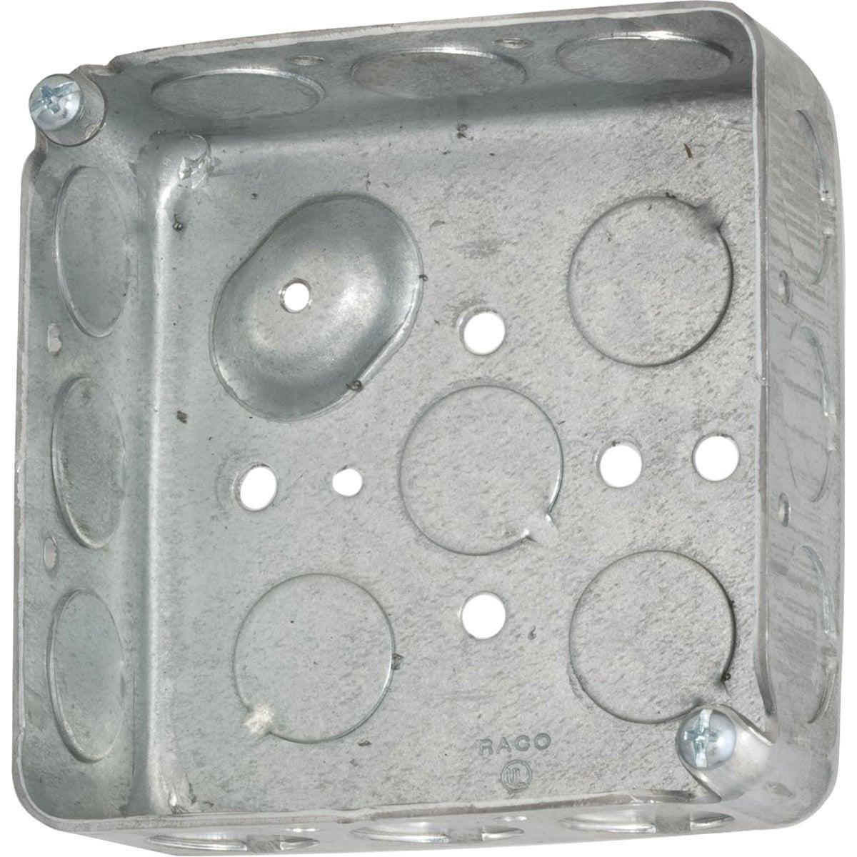4X4X1-1/2 SQUARE BOX - 521511/230 by Thomas & Betts