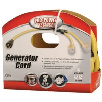 Woods Ind. 3' 12/4 GENERATOR CORD 01924-88-02