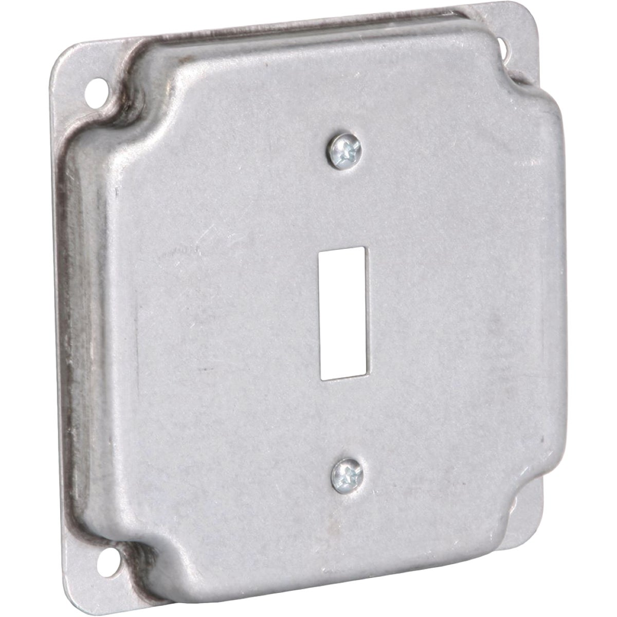 "4"" SQ 1-SWITCH BOX COVER"