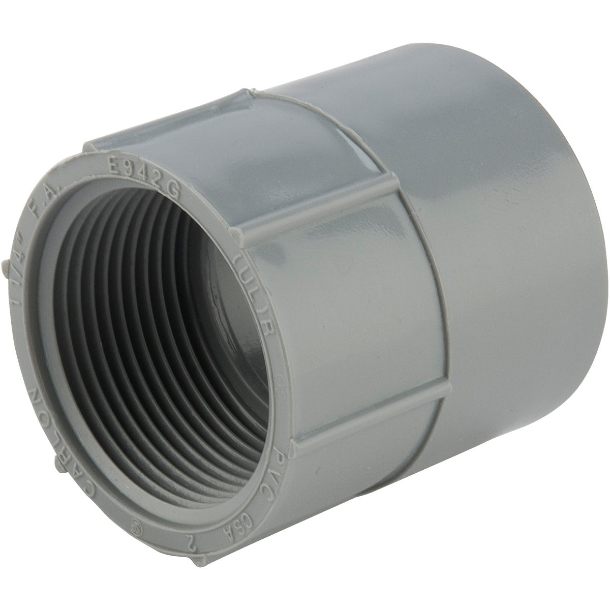 "1-1/4"" FEMALE ADAPTER - E942GR by Thomas & Betts"
