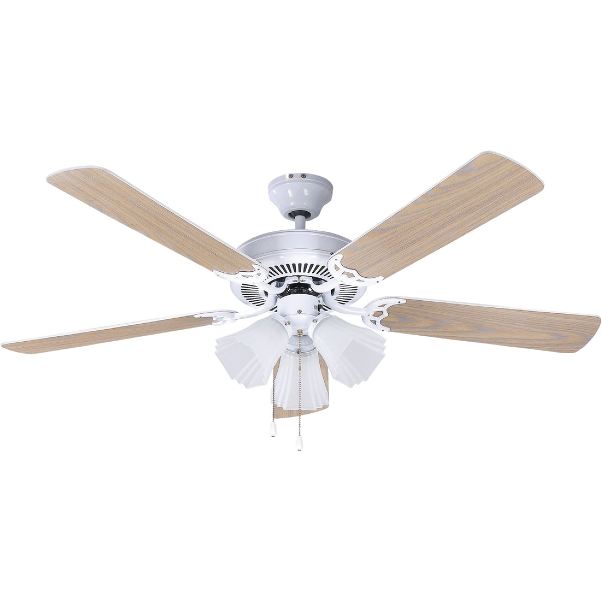 "52"" WHITE CEILING FAN - CF52SHB4WH by Canarm Gs"