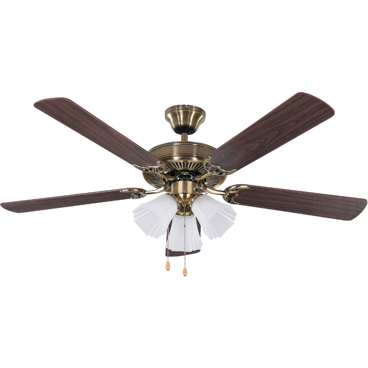 "52"" AB CEILING FAN - CF52SHB5AB by Canarm Gs"
