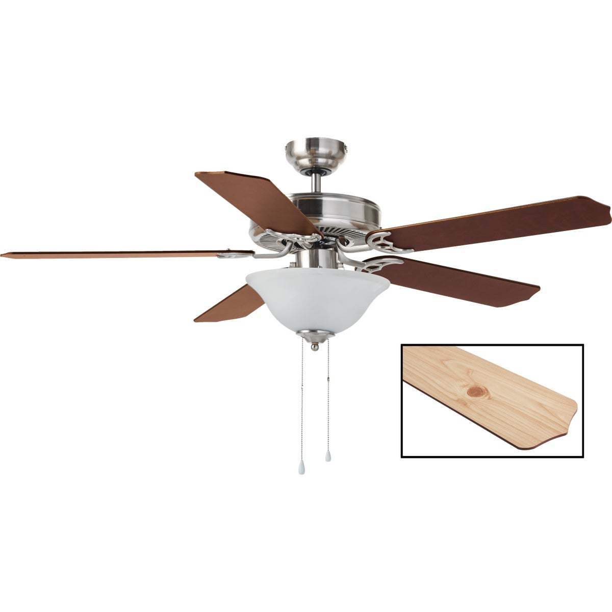"52"" BAYLOR BN CEIL FAN - CF52BAY5BN by Canarm Gs"