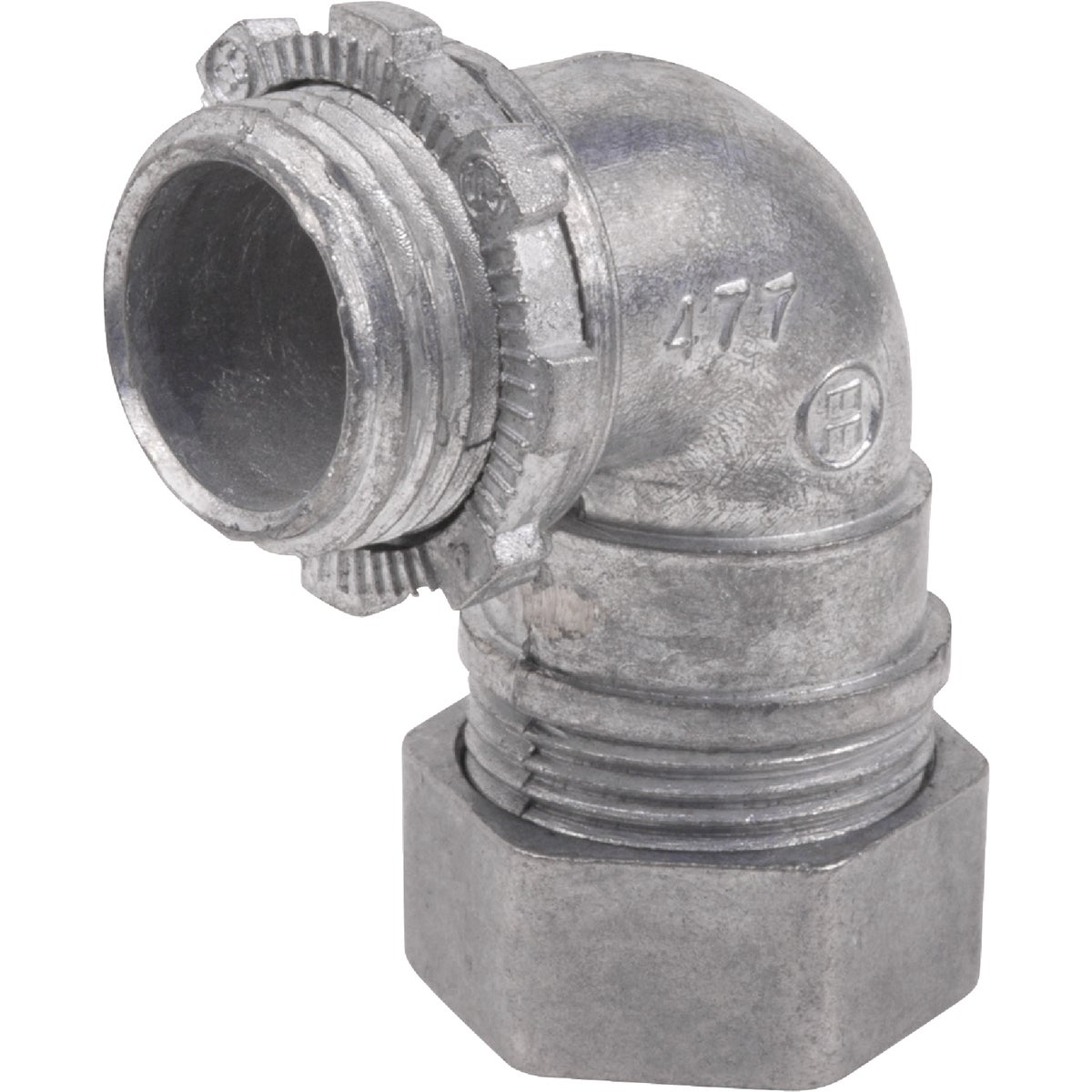"3/4"" 90DEG EMT CONNECTOR - TC912SC1 by Thomas & Betts"
