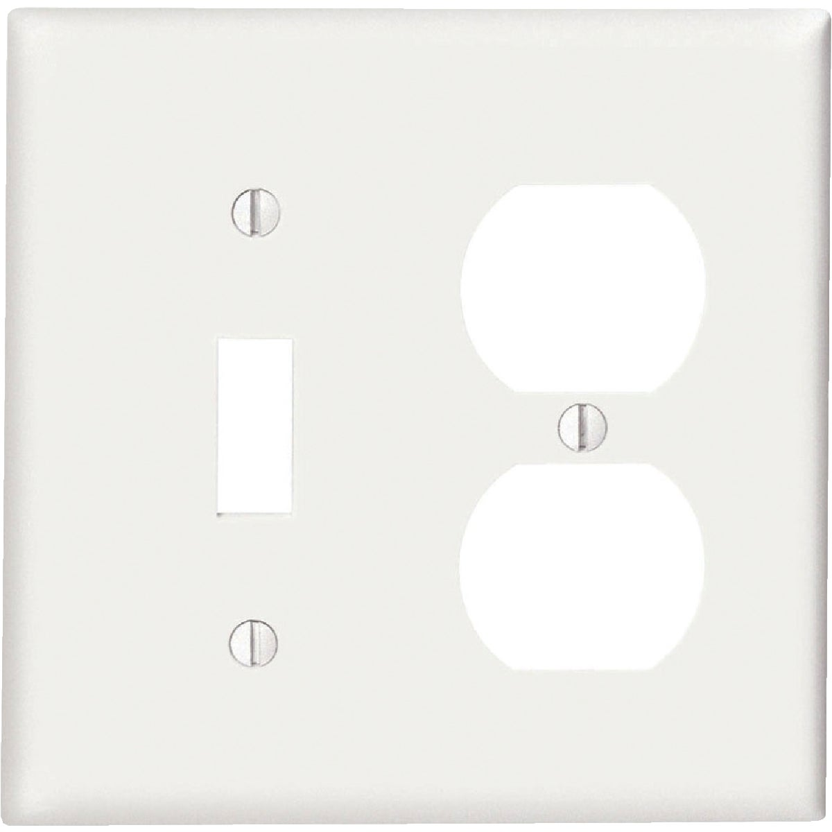 WHT COMBO WALL PLATE - 80705W by Leviton Mfg Co