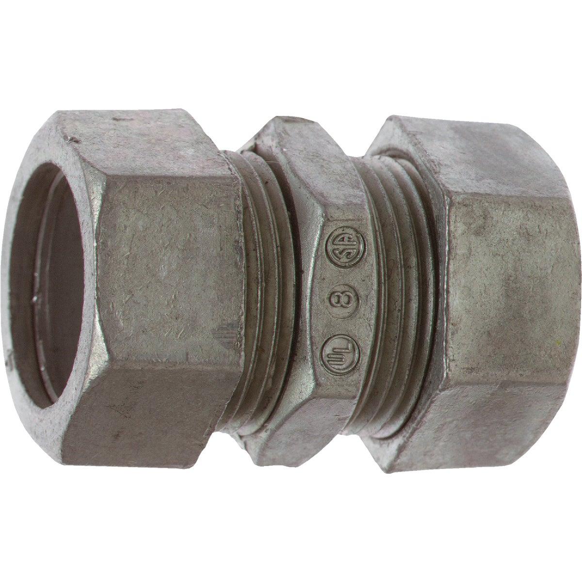 Steel City Compression EMT Conduit Coupling